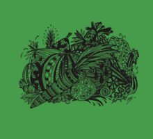 Vegetables Aussie Tangle One Piece - Short Sleeve