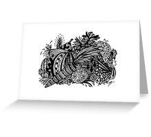 Vegetables Aussie Tangle Greeting Card