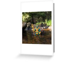 Masters of the Universe Classics - Mer-Man 2 Greeting Card