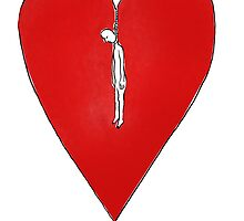 hanged heart by Loui  Jover