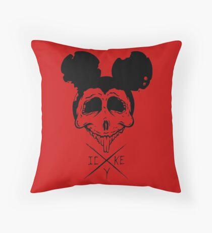 Dead Mouse Throw Pillow