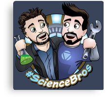 #sciencebros Canvas Print