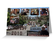 Eurofest 2010 - A Dutch-Australian Perspective.  Greeting Card
