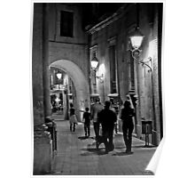 Walking in the night  Poster