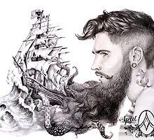 Sailor's Beard by April Alayne by AprilAlayne