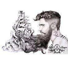 Sailor's Beard by April Alayne Photographic Print