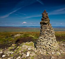 Buckden Pike Summit by Andrew Leighton
