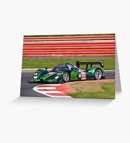 Drayson Racing Greeting Card