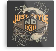 Just Style Authentic Ecology Metal Print