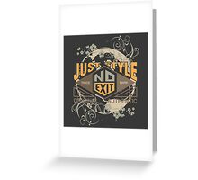 Just Style Authentic Ecology Greeting Card