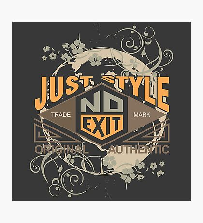 Just Style Authentic Ecology Photographic Print