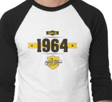 Born in 1964 (Choco&Yellow) Men's Baseball ¾ T-Shirt