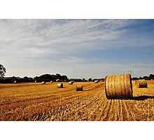 Hay Bales in Donegal Photographic Print