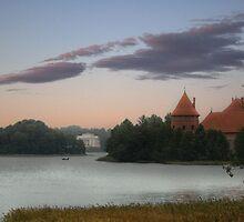 Castle of TRAKAI, palace by Antanas