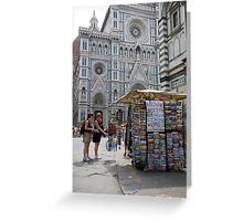cityscapes #147, la tourista Greeting Card