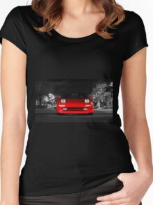 CarAndPhoto - Toyota MR2 Turbo Women's Fitted Scoop T-Shirt