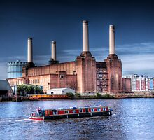 Windrush - Old London Power Station, London, England by Mark Richards