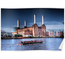 Windrush - Old London Power Station, London, England Poster