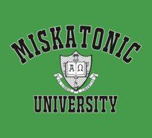 Miskatonic University Black & White Logo One Piece - Short Sleeve