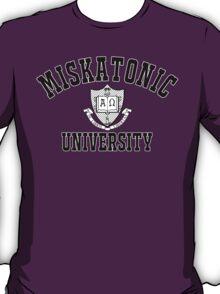 Miskatonic University Black & White Logo T-Shirt