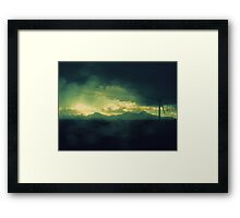 ...in Sheets of Shining Memory Framed Print