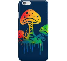 Rainbow Shrooms iPhone Case/Skin