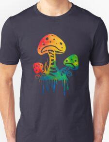 Rainbow Shrooms Unisex T-Shirt