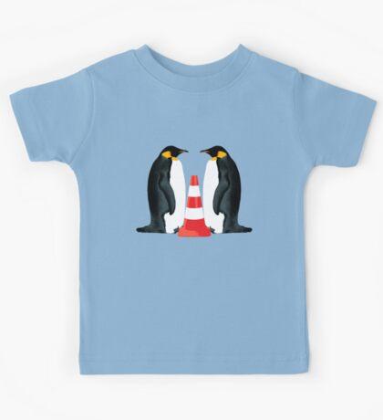Adoption penguin style Kids Tee