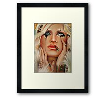 Queen B and The Little Pricks (close up) Framed Print