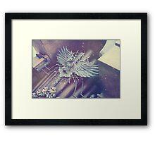 Haunted Organ Crow Framed Print