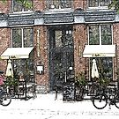 Toronto Coffee Shop-Available As Art Prints-Mugs,Cases,Duvets,T Shirts,Stickers,etc by Robert Burns