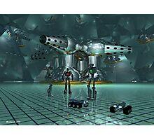 Little lost robots Photographic Print