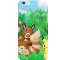 A Forest Meeting iPhone Case/Skin