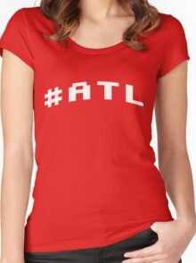 #ATL Women's Fitted Scoop T-Shirt