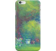 Peaceful Garden (pastel) iPhone Case/Skin