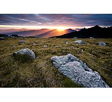 Sunset from High Moor Photographic Print