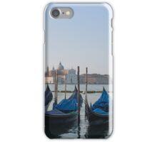 Gondolas in Venice iPhone Case/Skin