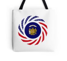 Wisconsin Murican Patriot Flag Series Tote Bag