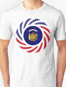 Wisconsin Murican Patriot Flag Series Unisex T-Shirt