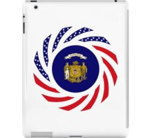 Wisconsin Murican Patriot Flag Series iPad Case/Skin