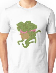 Eyes Covered Medusa Unisex T-Shirt