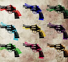 Nine Revolvers by ArtPrints