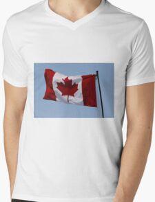 """Happy Birthday """"Canada"""" Mens V-Neck T-Shirt"""