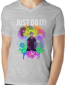 Shia Labeouf Epic JUST DO IT Mens V-Neck T-Shirt
