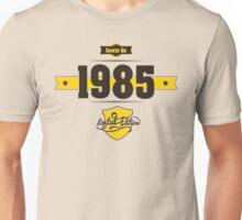Born in 1985 (Choco&Yellow) Unisex T-Shirt
