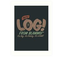 All New LOG!! Art Print