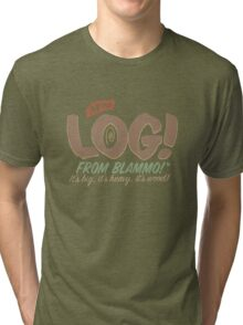 All New LOG!! Tri-blend T-Shirt