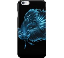 Bioluminescent Betta iPhone Case/Skin