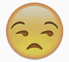 Annoyed Emoji Kids Tee