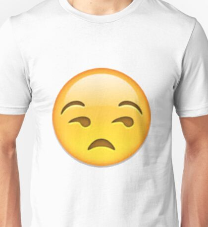 Annoyed Emoji Unisex T-Shirt